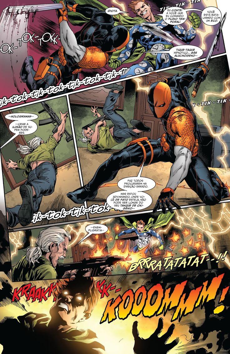DC Renascimento: Exterminador #1   Galáxia dos Quadrinhos