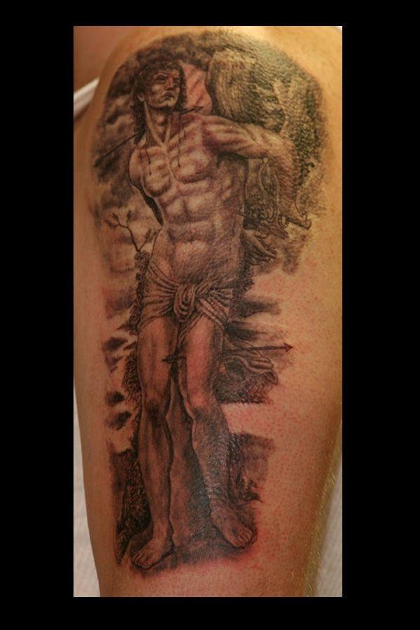 Saint Sebastian   Inspiration Tattoos   St sebastian ...