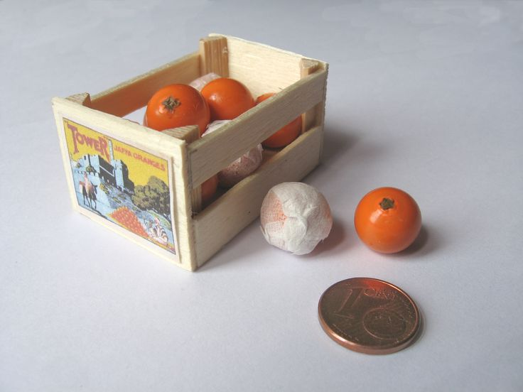 And another orange crate, now with (modified beads) oranges
