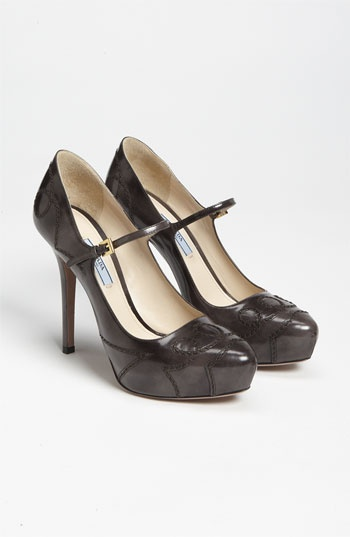 Prada Mary Jane Pump | NordstromPerfect Shoes, Prada Couture, Pump Fashion, Prada Mary, Power Shoes, Classy Shoes, Mary Jane, Pump 850, Jane Pump
