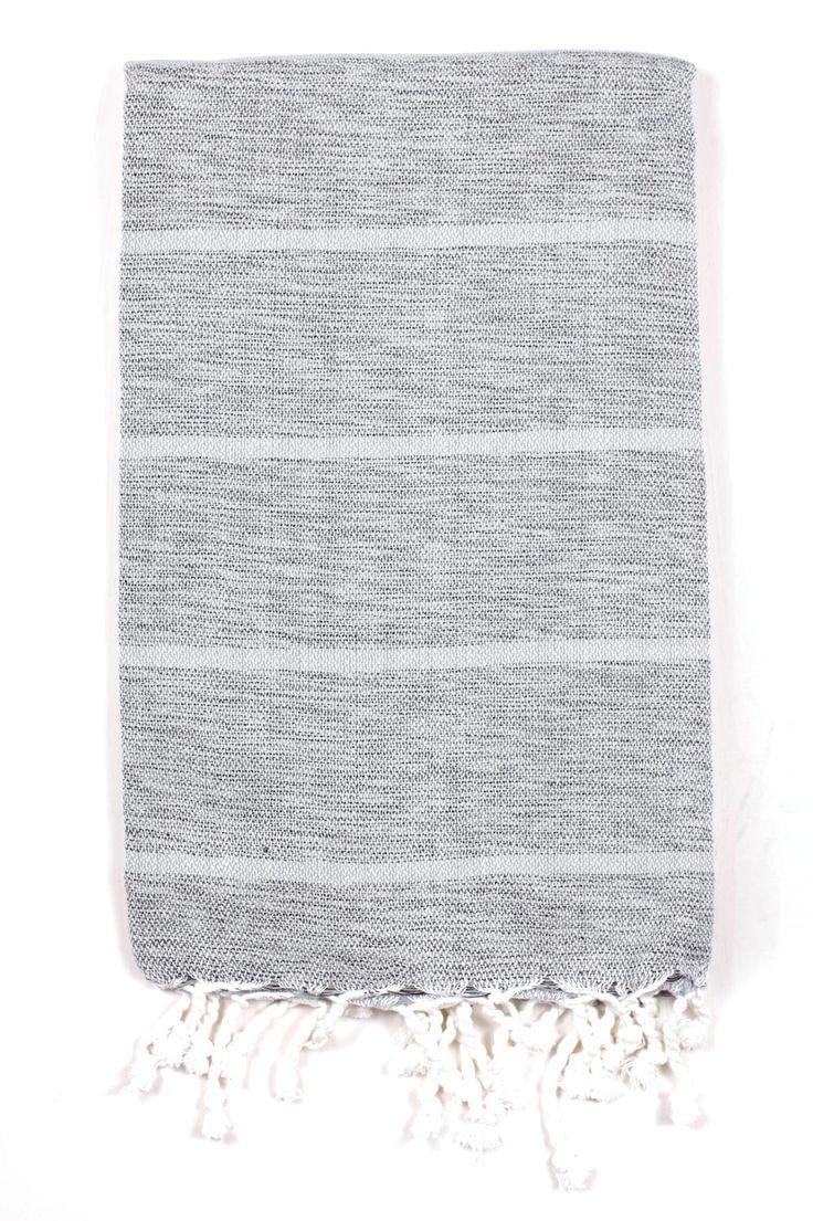 Pearl Grey Nevada Hammam Towel