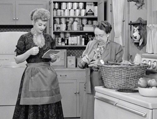 Lucy And Mrs Trumble I Love Lucy Pinterest