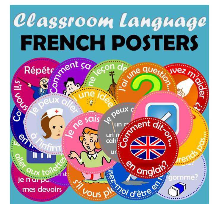 http://www.teacherspayteachers.com/Product/FRENCH-FLASHCARDS-CLASSROOM-LANGUAGE-363691