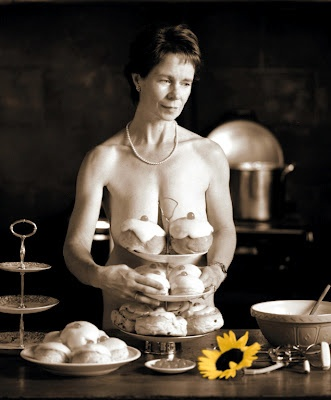 """We are going to need considerably bigger buns."" Hilarious!! ((Calendar Girls))"