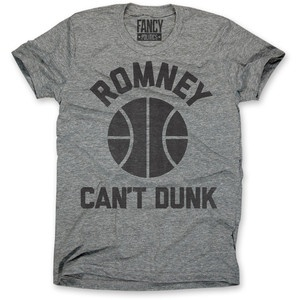 Romney Can't Dunk Tee Men's now featured on Fab.