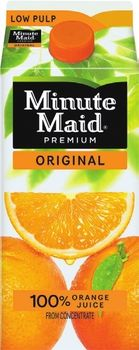 FREE Minute Maid Orange Juice at Giant Food Stores
