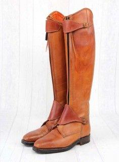 Polostiefel CABALLERA in Cognac >> pure Reiterliebe auch als Nichtreiter :)) ... und das auch noch maßgefertigt und ans Bein geschneidert!