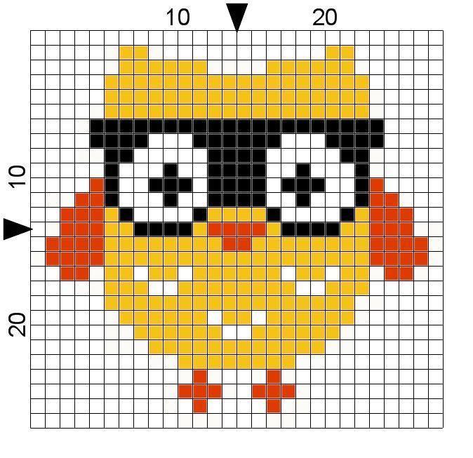 Nerdy Owl Free Cross Stitch Pattern