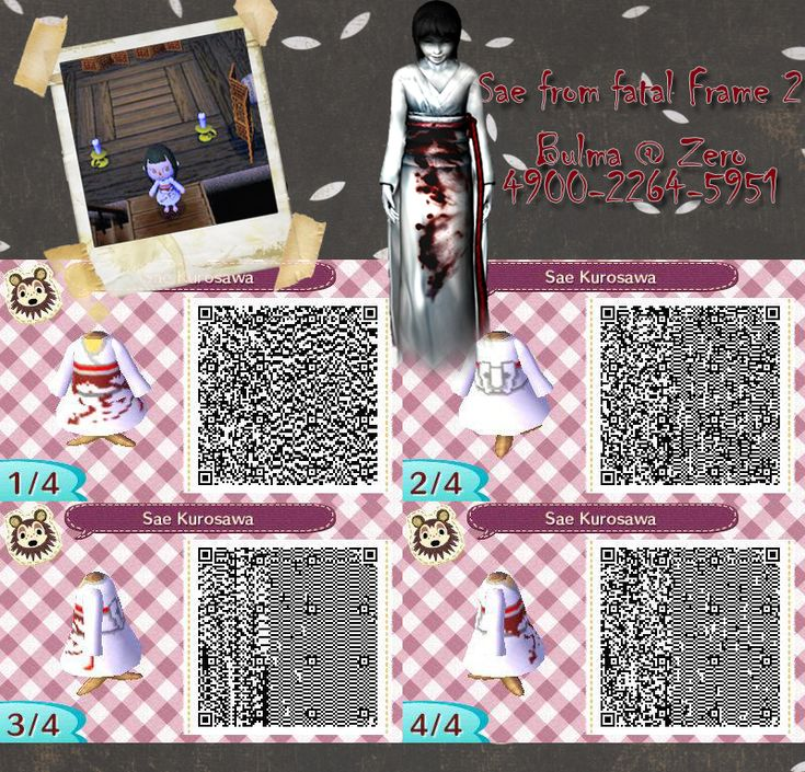 sae qr code for animal crossing new leaf by teenbulma on deviantart - Halloween Animal Crossing City Folk