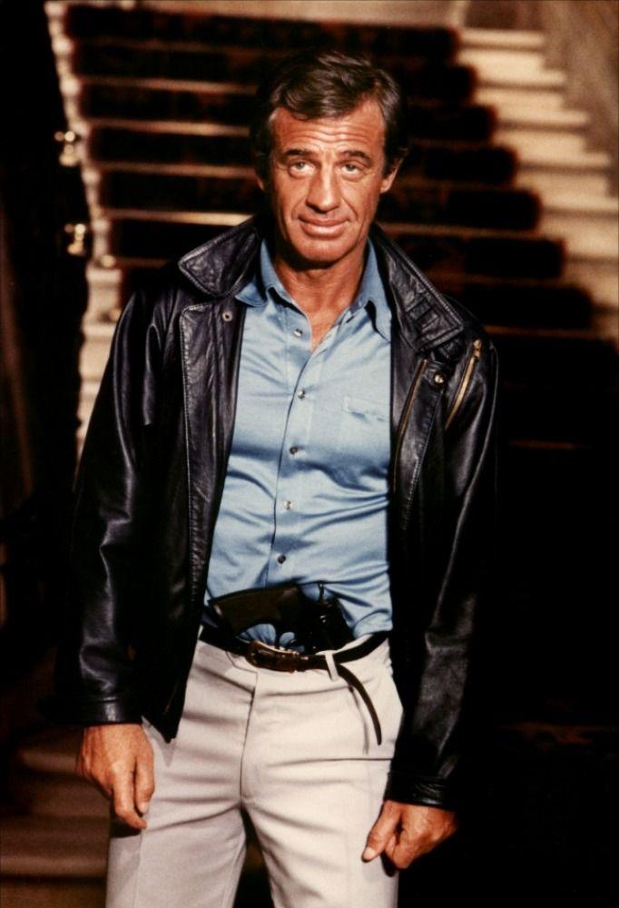 """Jean Paul Belmondo in """"The Professional"""" 1981"""