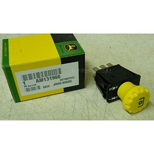 John Deere PTO switch AM131966 STX38 STX46 L120 L130 155C 190C 145 717A G110 PO455K5U 7RKB257114 -- See this great product.