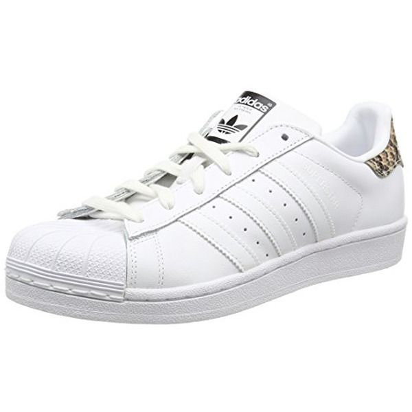 adidas Superstar, Damen Sneakers, Weiß (Ftwr White/Ftwr White/Core Black), 42 EU…