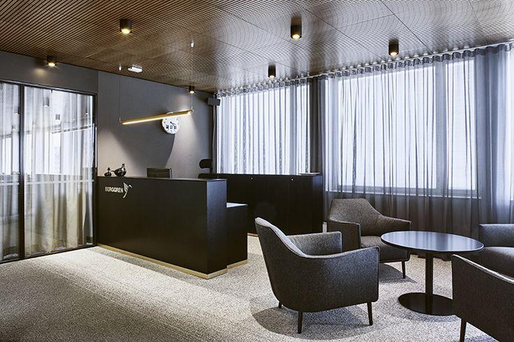 Berggren toimistotilat | Sisustusarkkitehdit Fyra