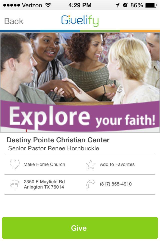 Destiny Pointe Christian Center in Arlington, Texas
