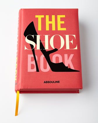 The Shoe Book at Neiman Marcus.