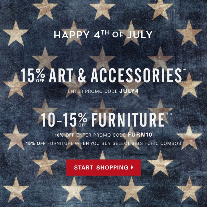 July 4th Furniture Sales: 41 Best Images About Email Design (American Patriotic) On