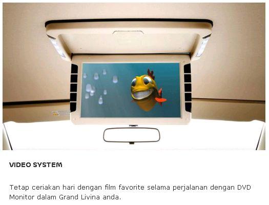 Video System Display dari Nissan, Mobil Terbaik Pilihan Keluarga Indonesia