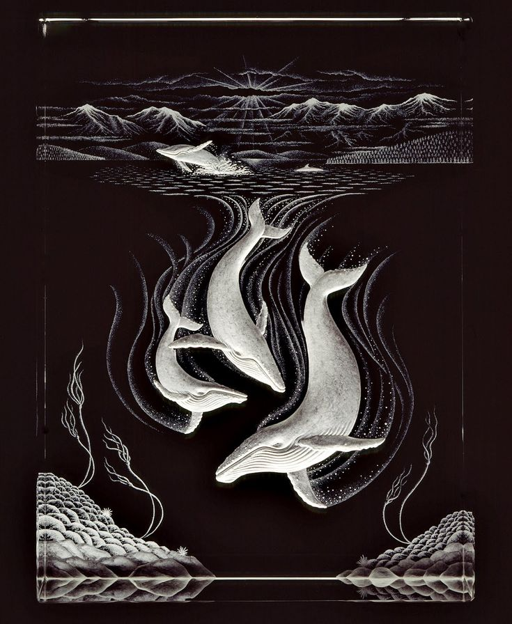 Glass Engraving: The beautiful imagination of the talented Mark Raynes Roberts