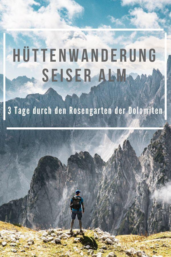 Hüttenwanderung- Seiser Alm – 3 atemberaubende Tage durch das Herz der Dolomiten