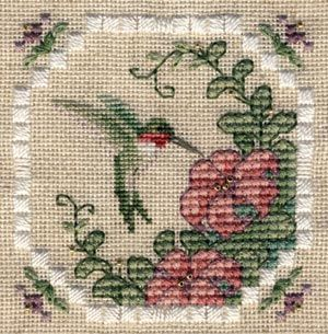 Hummingbird from TW's Needlework Blog Pattern available from http://twdesignworks.com/Free/hummingbird.html