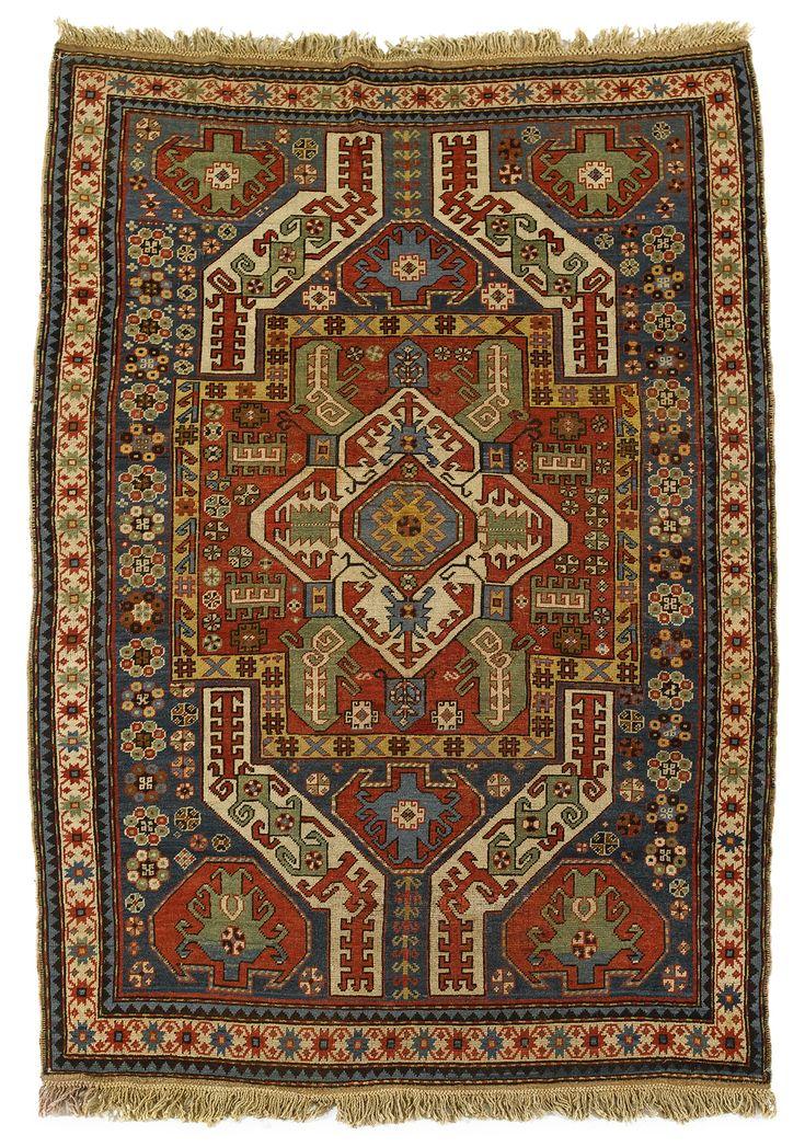 Kasim Ushag rug, southwest Caucasus, late 19th century.