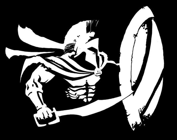 Sin City Spartan by GavinMichelli.deviantart.com on @deviantART