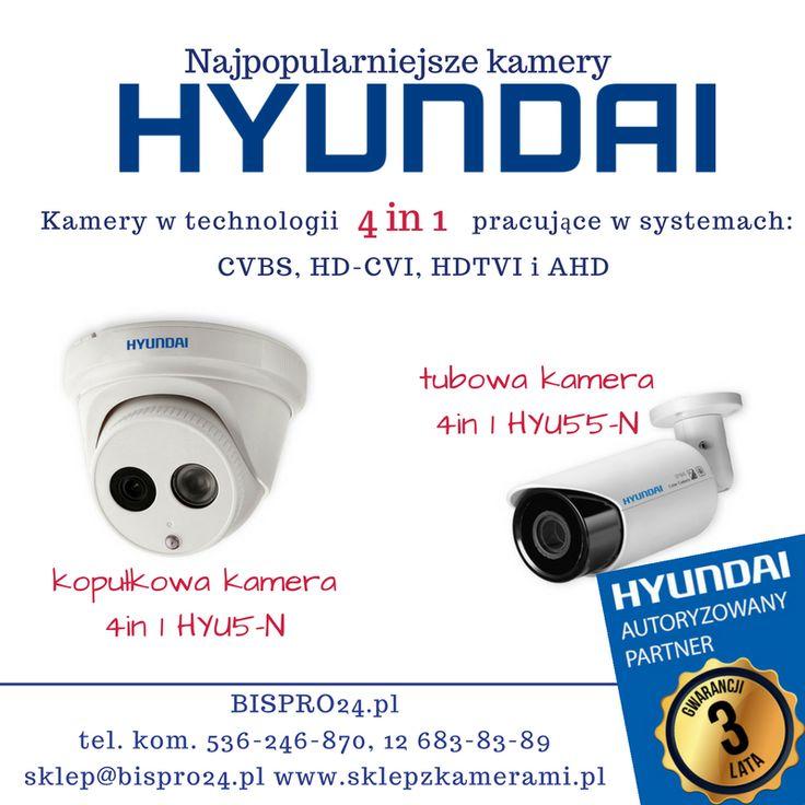 Najpopularniejsze kamery Hyundai w sklepie bispro24.pl