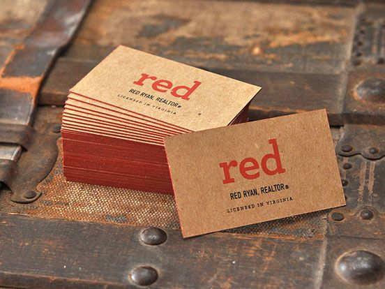 Red Ryan Business Cards