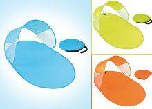 Óvd a bőröd és pihenj kényelmesen a parton: Pop-up strandsátor összecipzározható hordozó táskával, 3 színben
