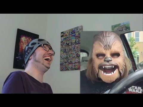 Laughing Chewbacca Mask Lady REACTION