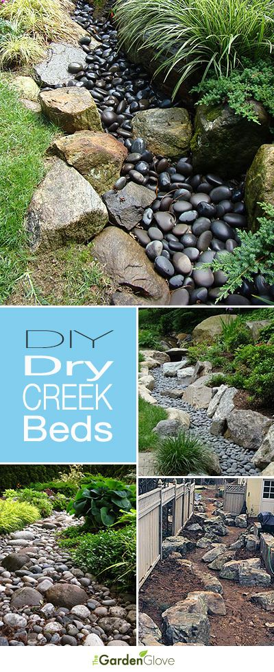 DIY Dry Creek Beds • Wonderful Ideas and Tutorials! Perhaps where we need drainage have this and when monsoon hits it will be a real one...