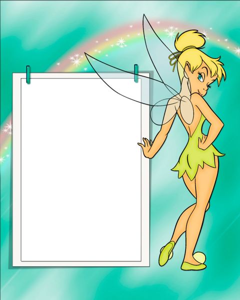 Tinkerbell Kids Transparent Frame