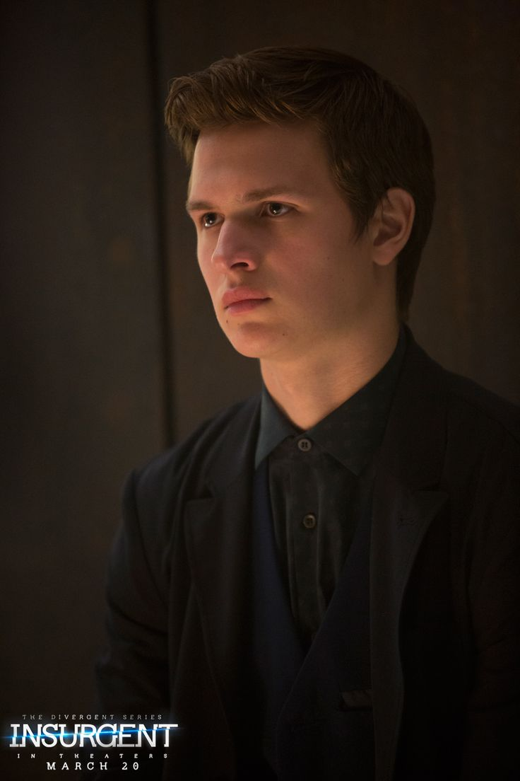 Logic does not prevent regret. Ansel Elgort as Caleb in The Divergent Series: | Insurgent.
