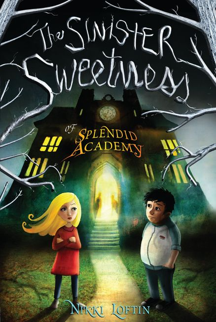 2012 Nikki Loftin - The Sinister Sweetness of Splendid Academy [Razorbill 9781595145086] illustrator: Alexander Jansson #bookcover