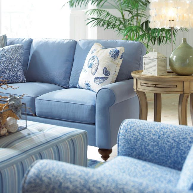 Time for a sofa upgrade? https://www.housetrends.com/room/sitting-pretty #housetrends #furnishings