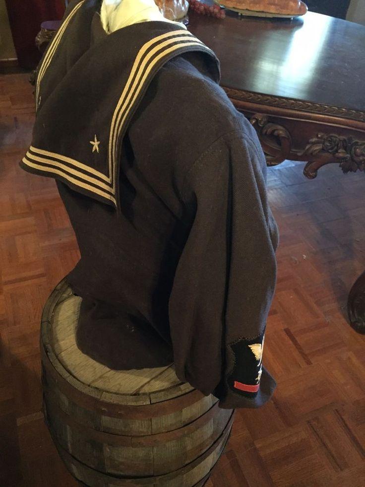 U.S. Navy Uniform. Rare, WW 1 Petty Officer Third Class.