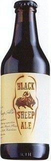 Cerveja Black Sheep Ale, estilo Extra Special Bitter/English Pale Ale, produzida por Black Sheep Brewery, Inglaterra. 4.4% ABV de álcool.