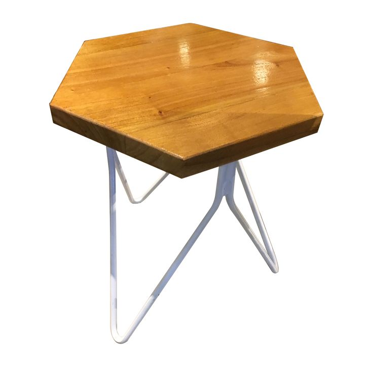 Stool Triangle - White. Enjoy the unique shape of Stool Triangle. Let share more stories while sitting on it.