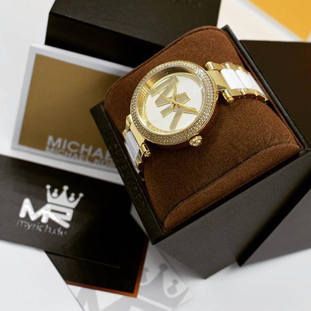 Michael Kors MK6313   @MyRich.de #MichaelKors #michaelkorswatch #mk6313 #mk #original #official #watch #style #uhr #trend #womensfashion #new #germany #chronograph #lifestyle #brand #jetset #onlineshop #luxus #juwelry #luxury #lady #fashion #2017 #white #whiteelements #special #gold #steel #accessories