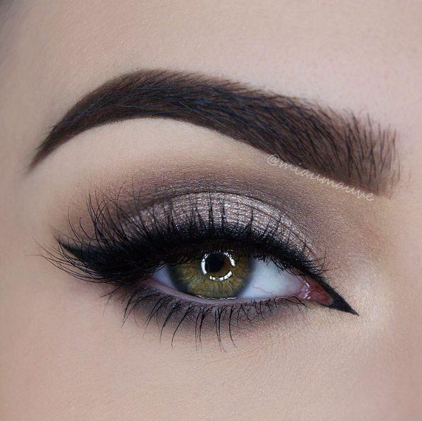 shimmery soft smokey eye ~  we ❤ this! moncheribridals.com