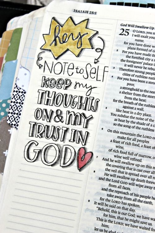 we all need notes to self