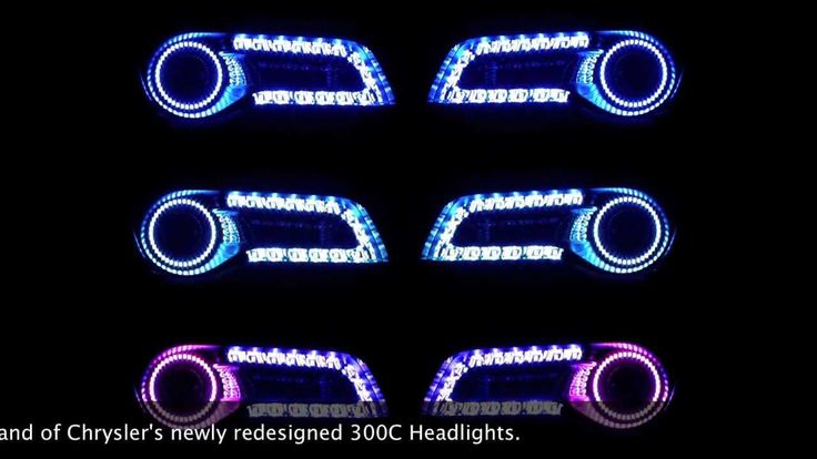 2011 and up Chrysler 300C ORACLE ColorSHIFT 2.0 Headlight Halo Kit... Yes please!