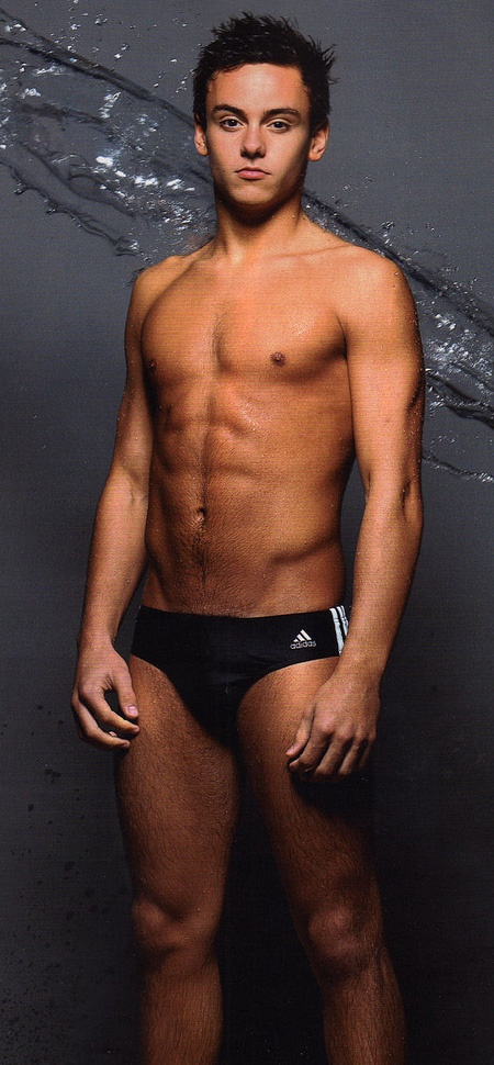 Tom Daley... I've never been this excited about men's diving. God bless the U.K.