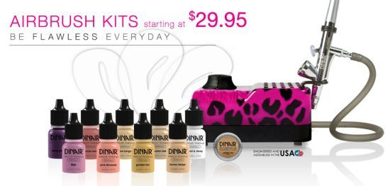 Dinair Airbrush Makeup Kit
