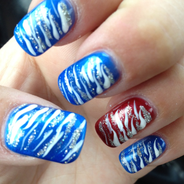 Cool Th Of July Nail Designs