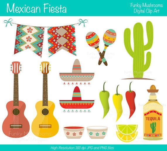 And then I discovered digital clipart...great for making your DIY inviations look a little less DIY.