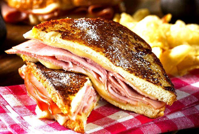 Sandwich-ul Monte Cristo | Retete culinare - Romanesti si din Bucataria internationala