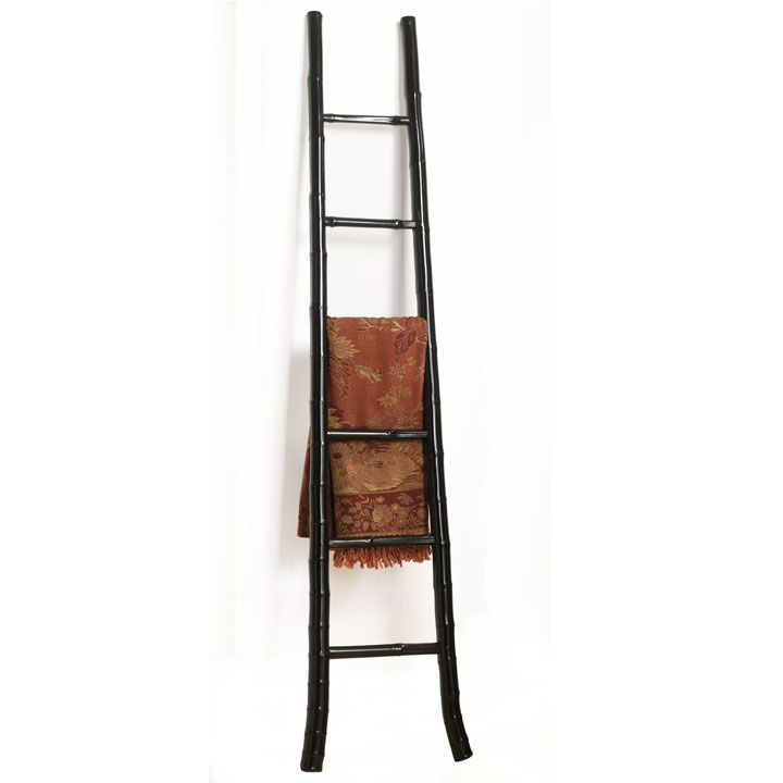 Bamboo Ladder, Black Lacquer