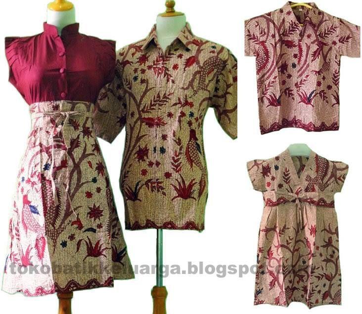 dress batik sarimbit keluarga modern SK16 di toko baju  batik online murah http://tokobatikkeluarga.blogspot.com/