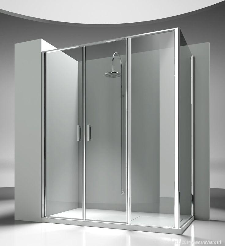 Best 25 corner shower enclosures ideas on pinterest for 1750 high shower door